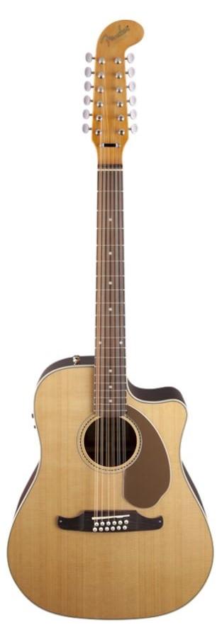 【Fender Acoustic】【Dreadnought】Villager™ 12 StringNatural<フェンダーアコースティックギター>【商品番号 10008832 】【店頭受取対応商品】