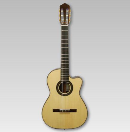 ASTURIAS SOLO CLASSICO/S<アストリアス ソロ クラシコ/S アコースティックギター>【With P.U./ウィズピックアップ】【商品番号 10009673 】【店頭受取対応商品】