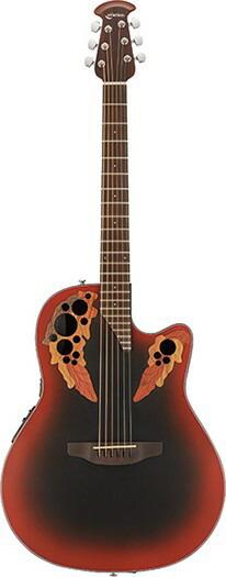 Ovation Celebrity Elite Limited Edition CE44Reverse Red Burst<オベーション アコースティックギター>【商品番号10011237 】【店頭受取対応商品】