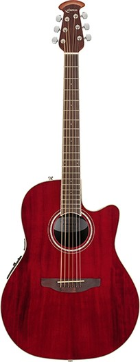 Ovation Celebrity Standard CS24Ruby Red<オベーション アコースティックギター>【商品番号 10011252 】【店頭受取対応商品】