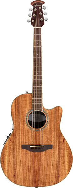 Ovation Celebrity Standard Plus CS24PFigured Koa<オベーション アコースティックギター>【商品番号 10011253 】【店頭受取対応商品】
