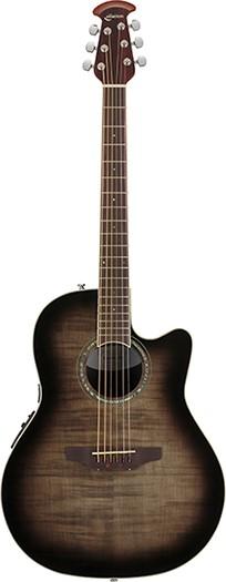 Ovation Celebrity Standard Plus CS24PTransparent Black Flame TBBY<オベーション アコースティックギター>【商品番号 10011254 】【店頭受取対応商品】