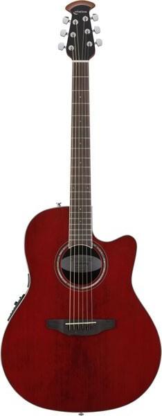 Ovation Celebrity Standard Super Shallow Body CS28Ruby Red RR<オベーション アコースティックギター>【商品番号 10011260 】【店頭受取対応商品】