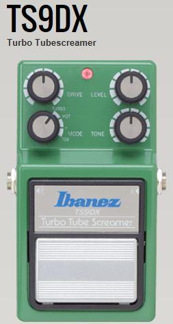 Tube エフェクター>【商品番号 Effects 】【店頭受取対応商品】 TS9DX<アイバニーズ Ibanez 10010029 Screamer