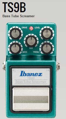 Ibanez Effects Bass Tube Screamer TS9B<アイバニーズ エフェクター>【商品番号 10010030 】【店頭受取対応商品】