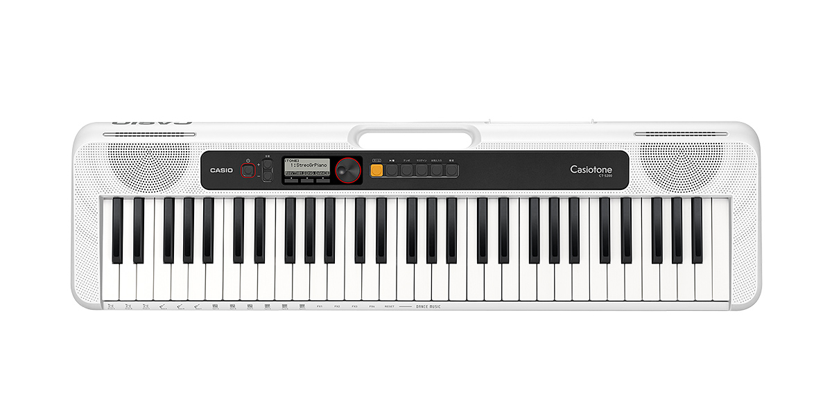CASIO Casiotone CT-S200WE WHITEカシオ ベーシックキーボード 61鍵 ホワイト【店頭受取対応商品】
