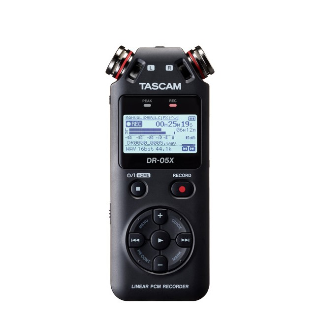 コンパクトで多機能 簡単操作で高音質の録音が可能 TASCAM DR-05Xタスカム 新商品!新型 ステレオオーディオレコーダー ハンディレコーダー 超特価SALE開催 USBオーディオインターフェース