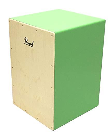 Pearl PCJ-CVC/SC Standard COLOR BOX CAJON w/Soft Cases Lightgreenパール カラー ボックス カホン スタンダード ライトグリーン