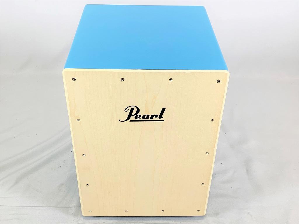 Pearl PCJ-CVJ/SC Junior COLOR BOX CAJON w/Soft Cases Skyblueパール カラー ボックス カホン ジュニア スカイブルー<BR>【店頭受取対応商品】