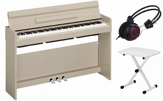 YAMAHA ARIUS YDP-S34 WA セットヤマハ 電子ピアノ アリウス ホワイトアッシュ【椅子・ヘッドホン付セット】【お客様組立て品】