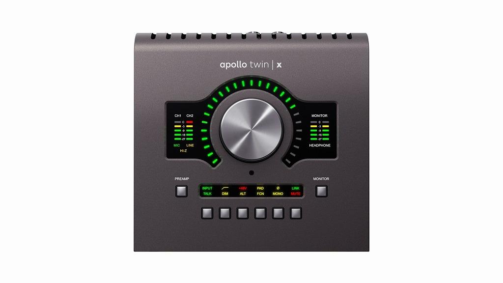 Universal Audio Apollo Twin X QUADユニバーサルオーディオ アポロ ツイン クアッドサンダーボルト オーディオインターフェイス