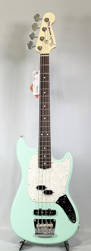 Fender AMERICAN PERFORMER MUSTANG® BASS Satin Surf Greenフェンダー エレキベース ムスタングベース サーフグリーン