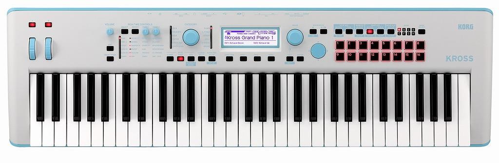 KORG KROSS 2-61-GB Gray-Blueコルグ クロス シンセサイザー ブルー【店頭受取対応商品】