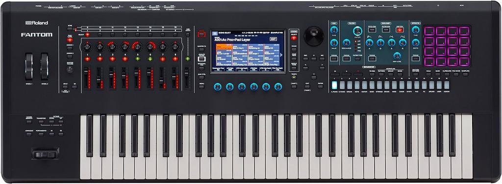 Roland FANTOM6ローランド シンセサイザー 61鍵