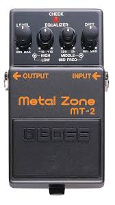 Boss Metal Zone MT-2<ボス メタルゾーン>【商品番号 10000053 】