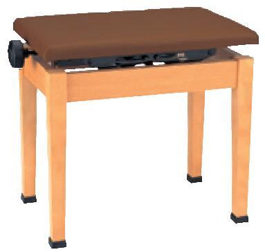 K48 ピアノにも使えます 艶消しライトチェリー高低自在 甲南デジタルピアノ用椅子