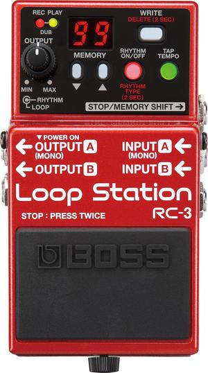 Boss Loop Station RC-3<ボス ループステーション>【商品番号 10000316 】【店頭受取対応商品】