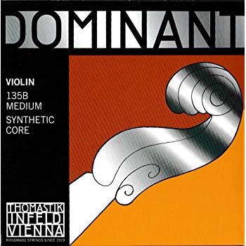 全世界的超定番ナイロン弦 本店 THOMASTIK Dominant バイオリン弦 4 4弦セットトマスティーク 再再販 ドミナント ヴァイオリン弦SET