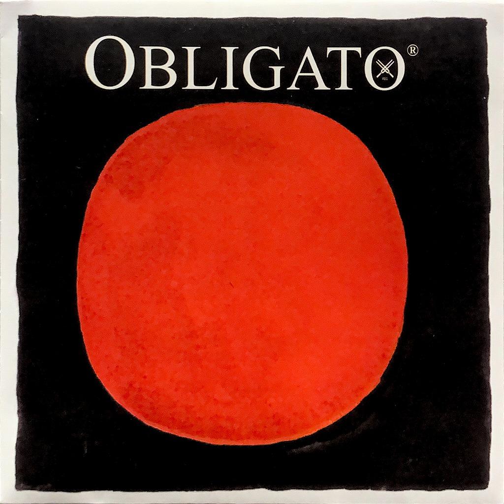 ガット弦のような音色とレスポンス PIRASTRO 人気上昇中 OBLIGATO G線ピラストロ マーケット 単品 バイオリン弦 オブリガート