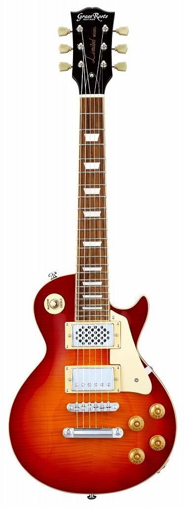<title>ピックアップ型のスピーカを内蔵のミニギター GrassRoots 毎週更新 G-LPS-MINI CHS Cherry Sunburstグラスルーツ スピーカー内蔵エレキギター チェリーサンバースト</title>