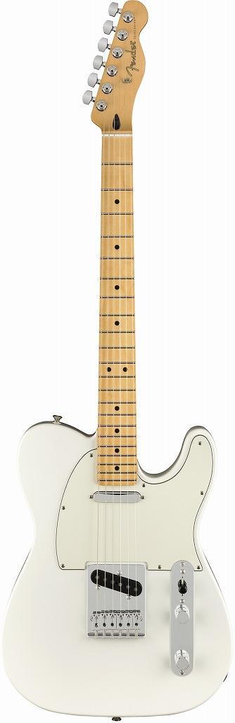 【RECOMMEND:イオンモール久御山店】 Fender Player Telecaster Polar White Pau Ferro フェンダー プレイヤー テレキャスター【店頭受取対応商品】