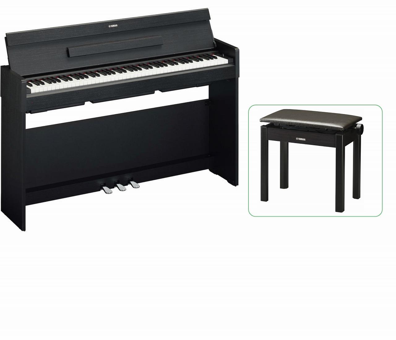 【お客様組立て品】【専用高低椅子付セット】YAMAHA ARIUS YDP-S34 B ヤマハ 電子ピアノ ブラックウッド