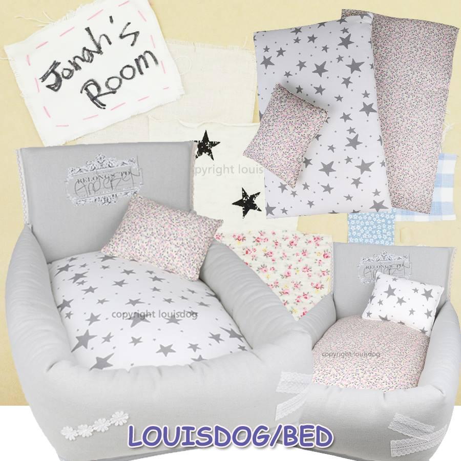 【Louisdog】【送料無料】My Bedtime Story 小型犬 高級 ベッド ベット 犬服 ルイドッグ
