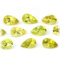 ルビー サファイア エメラルド ダイヤモンドなど高品質宝石は当店へ ペアシェイプ 定価 5x3mm前後 ストーン のリーズナブル 宝石 商品追加値下げ在庫復活 カナリートルマリン ルース