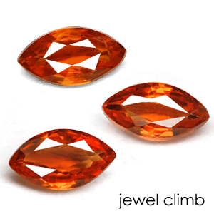 ルビー サファイア 新発売 中古 エメラルド ダイヤモンドなど高品質宝石は当店へ マーキス6x3mm前後 のリーズナブル ルース オレンジサファイア 宝石 ストーン