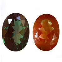 神秘なる変色石カラーチェンジアンデシン 宝石 ルース 4.95CTOXZiuwPkT