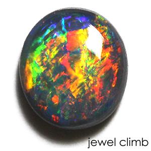 ブラックオパール 宝石 ルース 0.76CT
