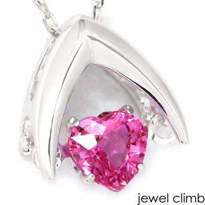高品質ピンクサファイアが踊る 厳選ジュエリー 安値 低価格化 ダンシング ピンクサファイアペンダント スウィング
