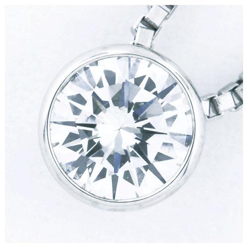 お買い物マラソン【 令和 記念スプリングセール5%OFFずみ】ダイヤモンド0.351CTシンプルPTペンダント