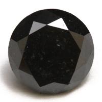 4月の誕生石 ダイヤモンド ルース 美品 1.42CT ブラックダイヤモンド 卓越 宝石