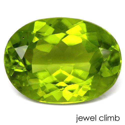 美しいグリーンを輝かせる ペリドット アイテム勢ぞろい 宝石 3.35CT ルース 期間限定