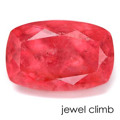 訳あり品送料無料 上質なSクラスカラー 瑞々しいローズを思わせる ロードクロサイト 宝石 1.69CT 本物 ルース