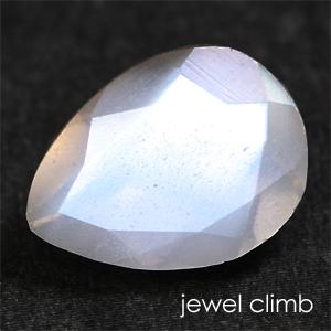 貴重なペアシェイプ結晶が魅せるシラー効果 ペリステライト 宝石 ルース 最新アイテム 0.87CT 人気の製品