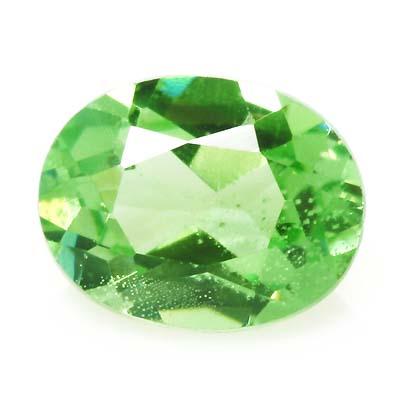 増税前最後のサマーセール開催グリーン ガーネット 宝石 ルース 0.38CT
