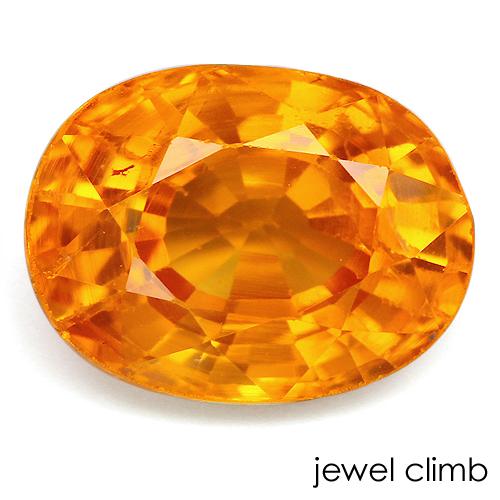 華やかなオレンジが美しい 8 27まで割引中 マンダリン 1.20CT ルース 新作多数 交換無料 ガーネット 宝石