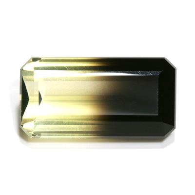 印象的な色彩の煌きバイカラースモーキークォーツ 宝石 ルース 25.64CTRc4ASj3q5L