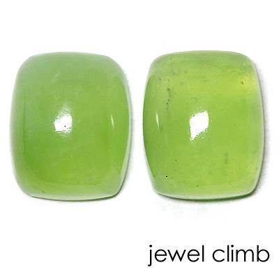 お買い物マラソン【送料無料】鮮やかなグリーンが魅力のレアカラー結晶!マスカットオパール 宝石 ルース 2Pセット