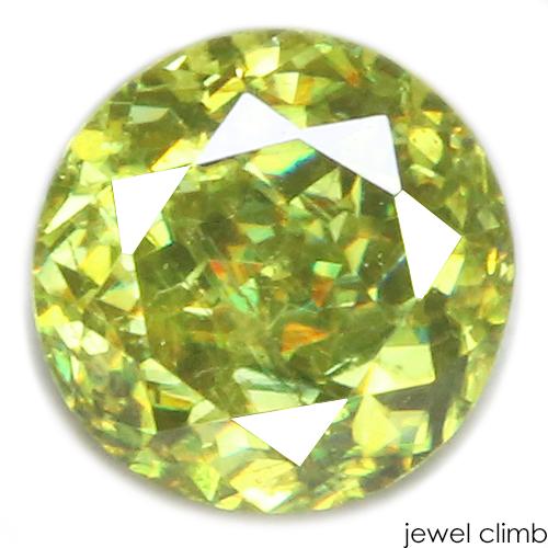 希少なグリーンを力強く輝かせる グリーンスフェーン 宝石 新作送料無料 人気上昇中 ルース 0.95CT