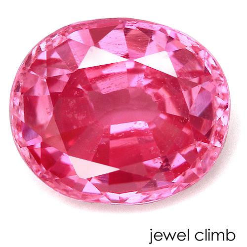 華やかな発色が魅力の一石 オーバーのアイテム取扱☆ 8 お得 31まで割引中 ピンクスピネル ルース 0.62CT 宝石