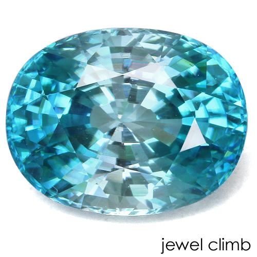 抜群の輝きを放つ高品質結晶 人気上昇中 コロナ復興 15%適用済バイカラータイプ ブルージルコン 返品交換不可 宝石 3.39CT ルース