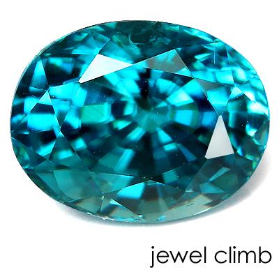 ブルージルコン 宝石 宝石 3.87CT ルース ルース 3.87CT, DTC:5241e62e --- sunward.msk.ru