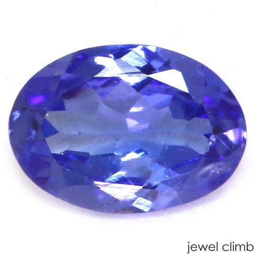 値下げ 美しいバイオレットブルー タンザナイト 宝石 引出物 ルース 0.80CT
