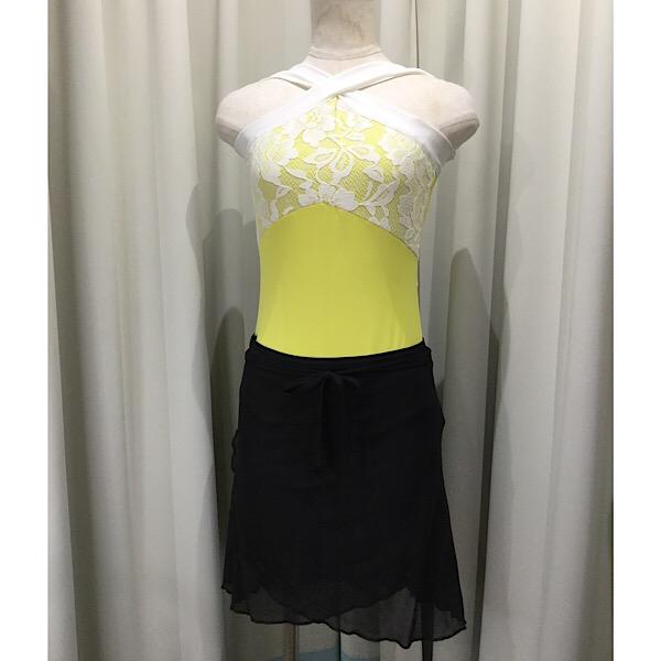 激安 激安特価 送料無料 軽いメッシュ生地の巻きスカートです 春の新作続々 ブラックメッシュ バレエ巻きスカート リボンループ付き ジュエレスクオリジナル