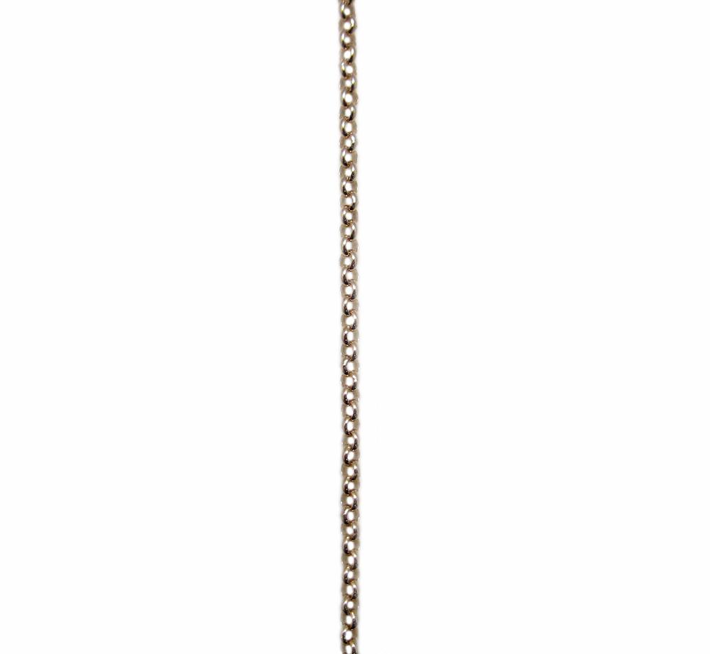 ピンクゴールド アズキチェーン スライドアジャスター付 60cm
