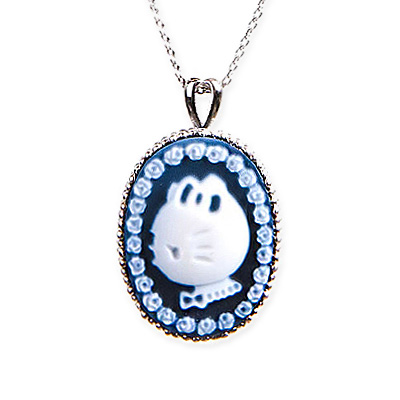 Hello kitty Hello Kitty pendant cameo profile hello kitty and lease Carameo キャラメオプレゼントギフトクリスマスラッピング fs3gm of the rose