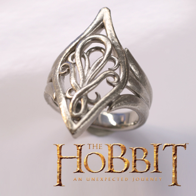 Hobbit: an unexpected adventure ◆ Elrond ring [Silver 925 rhodium coating accessories ring ring road-of-the-ring Gifts Gift THE HOBBIT store limited